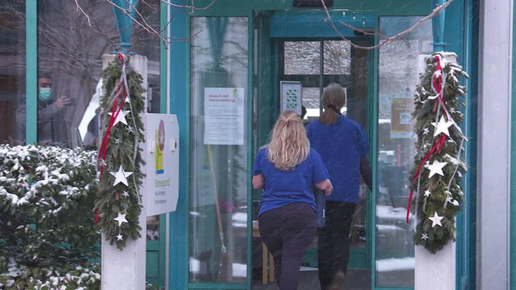 St.Galler Impfstart in Toggenburger Pflegeheimen