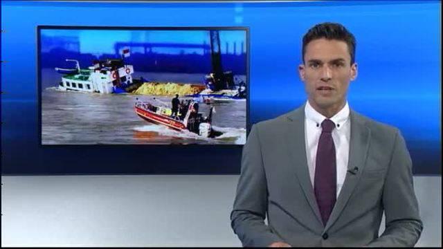 Aargauer filmt Schiffs-Crash auf Rhein