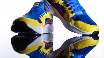 Der Lidl-Sneaker von Lidl Schweiz wurde Mitte Juli lanciert und war am ersten Tag ausverkauft.