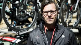 Danilo Hondo vor wenigen Tagen an der Tour de Romandie