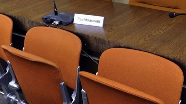 Im Gerichtssaal in München wurd unter Ausschluss der Öffentlichkeit verhandelt (Archiv)
