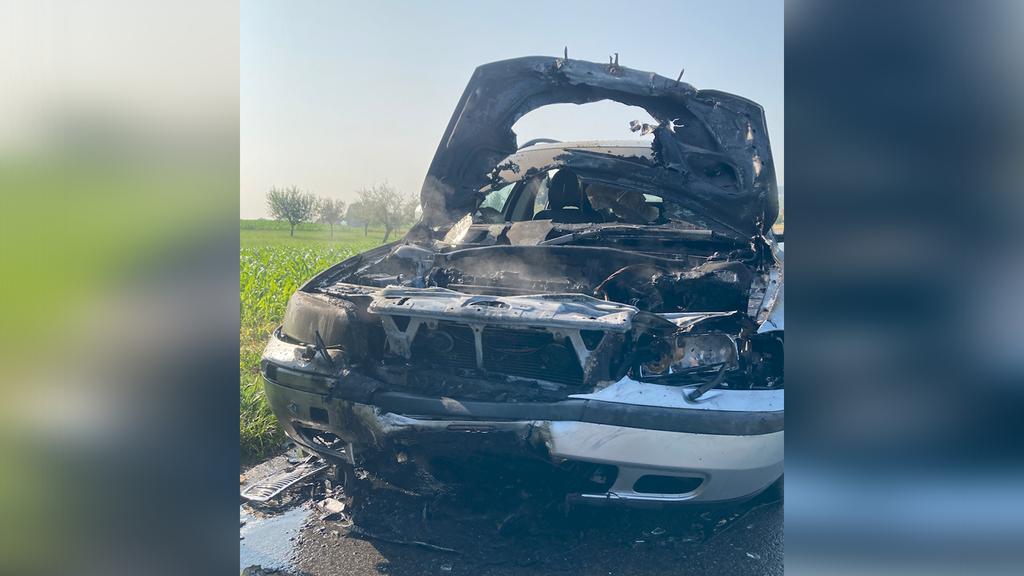 Motorradfahrer bei Frontalkollision mit Auto verstorben