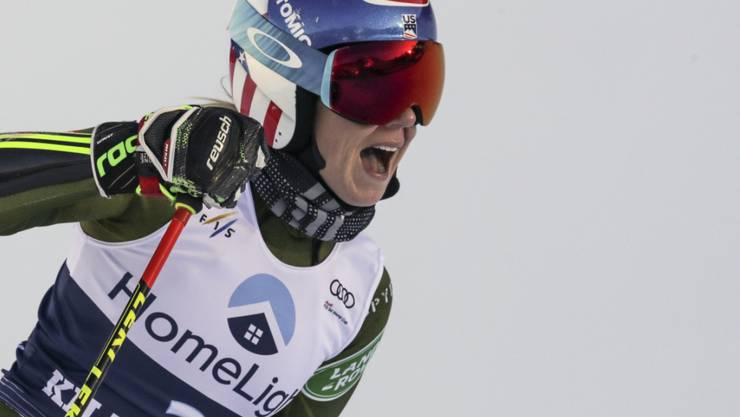 Mikaela Shiffrin scheint in Killington erneut unantastbar