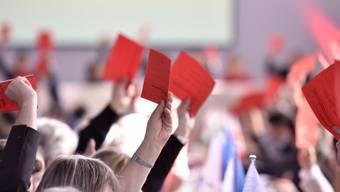 Grosse Einigkeit: Die SP-Delegierten sagten deutlich Ja zur Asylgesetzrevision.