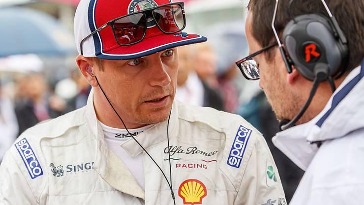 Kimi Räikkönen und sein Team wollen die aberkannten Punkte von Hockenheim zurück