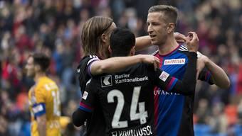 FC Basel - Luzern (2016/17, 22. Runde)