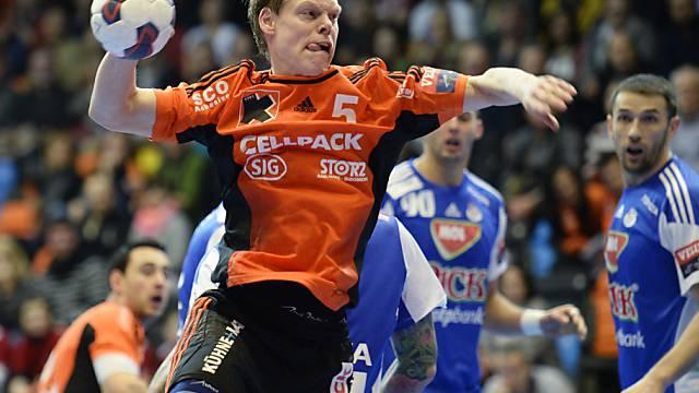 Manuel Liniger will mit den Kadetten Schaffhausen in den Cupfinal