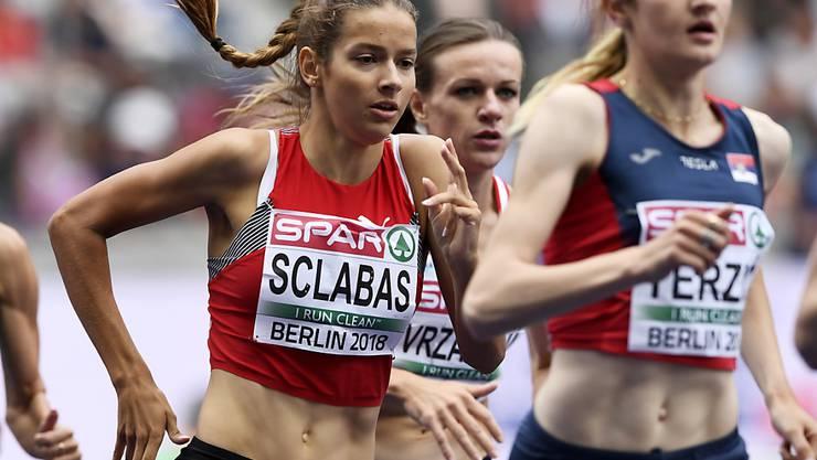 Delia Sclabas holte an den U20-Europameisterschaften nach Silber über 800 m Gold über 1500 m