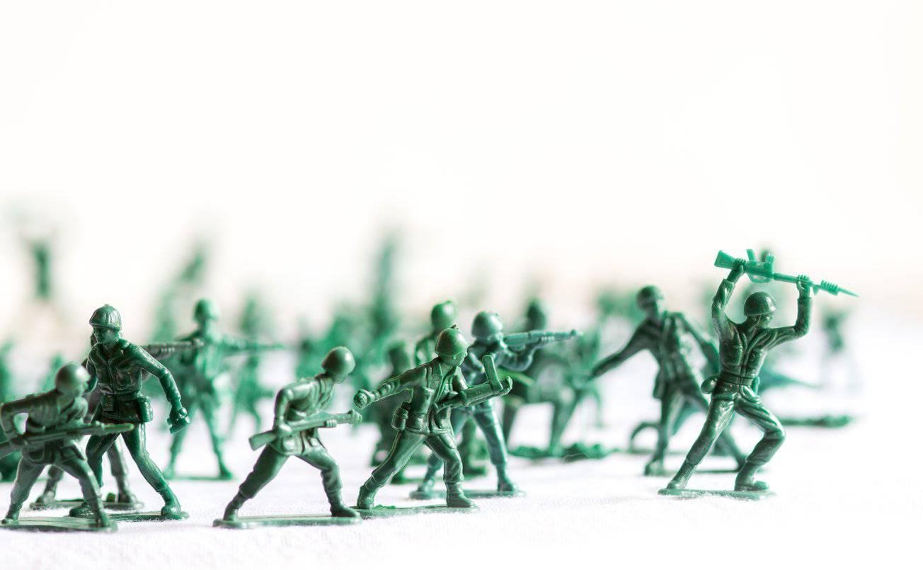 Früher waren sie aus Metall, heute sind Soldatenfiguren meist aus Kunststoff. (Bild: iStock)