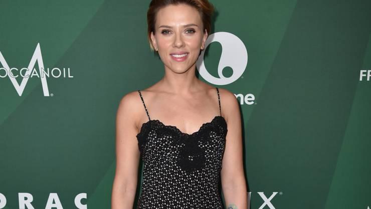 Scarlett Johansson eröffnet in Paris einen Laden für Feinschmecker-Popcorn. (Archivbild)