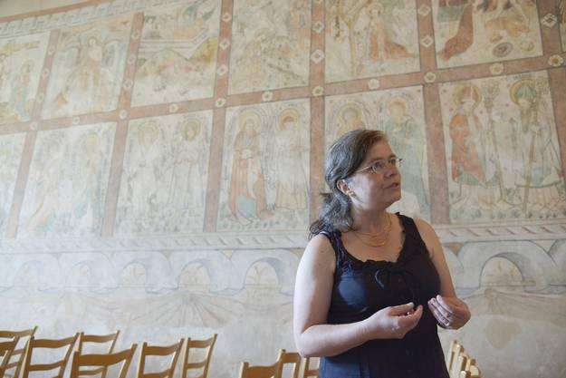 Susanne Gehrig ist Präsidentin der Museumskommission und kümmert sich um die Katharinenkapelle
