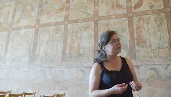 Fresken in der Wiedlisbacher Katharinenkapelle