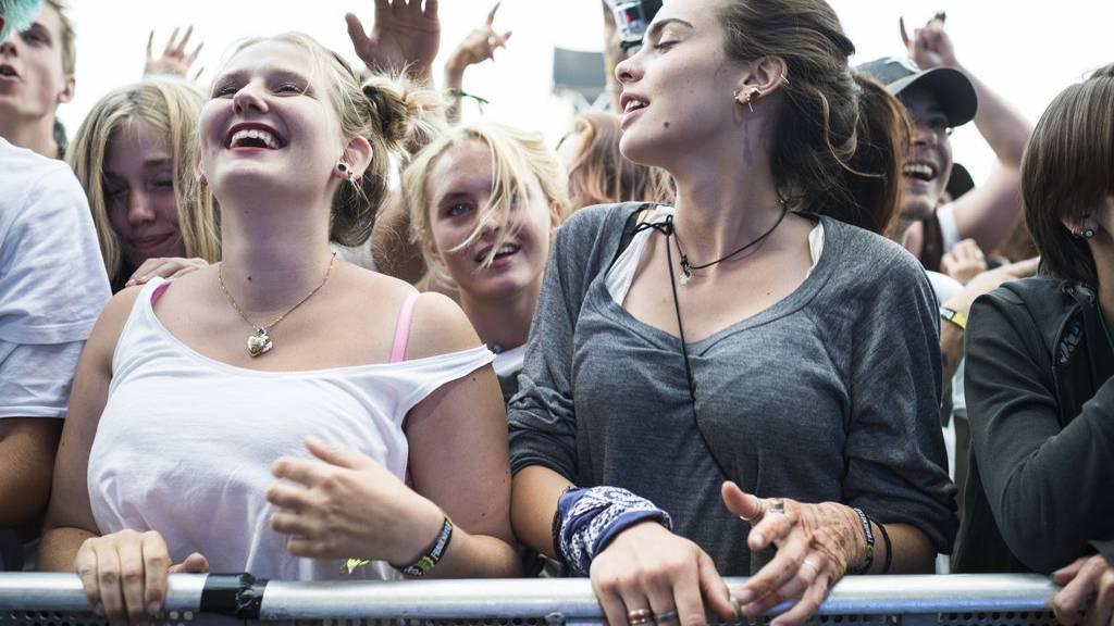Frauen sind zumindest im Publikum gerne gesehen.