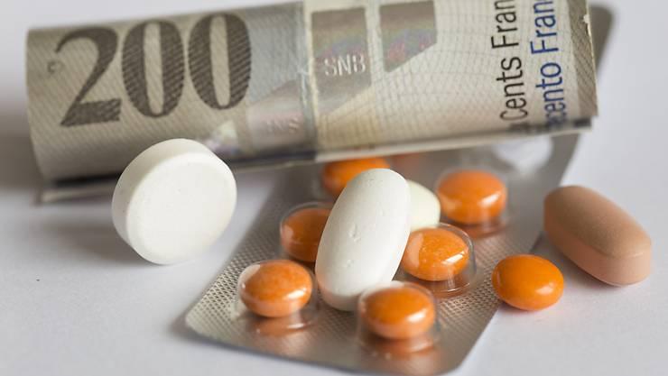 Günstigere Medikamente: Der Bund hat seine dreijährliche Preissenkungsrunde abgeschlossen. Insgesamt 450 Millionen Franken konnten eingespart werden. (Themenbild)