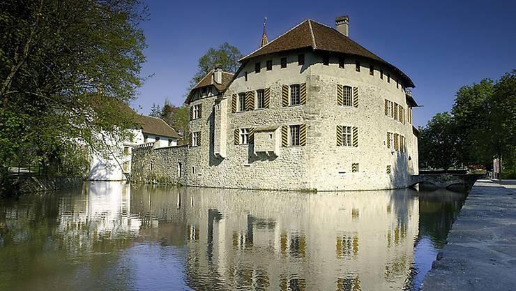 Ein Hingucker: Schloss Hallwyl in Sengen.