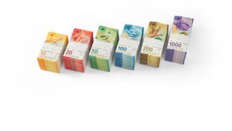 Nun ist sie komplett, die 9. Banknotenserie der Schweiz. In wenigen Tagen wird auch die 100-Franken-Note im Umlauf sein.
