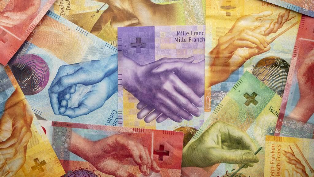 St.Galler Einwohner haben 24,60 CHF Steuervermögen