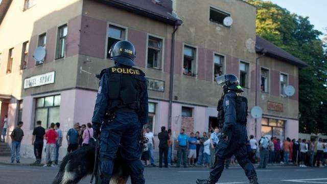 Im Nordwesten Tschechiens kommt es zu Krawallen zwischen Rechtsextremen und der Polizei (Symbolbild)