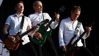 Unverwüstlich seit 57 Jahren: Richie Malone, Francis Rossi und John Edwards (v.l.). am 15.9.2019 im Hyde Park London.