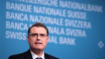 «Für eine kleine Drehung an der Zinsschraube gibt es keinen Grund»: Thomas Jordan, Nationalbank-Präsident.