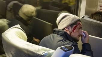 Nur zum Schein verletzt: TGV-Fahrgast