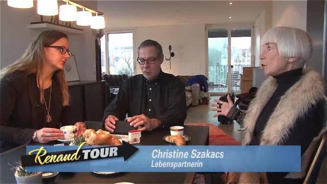 Renaud Tour mit Alexander Tschäppät