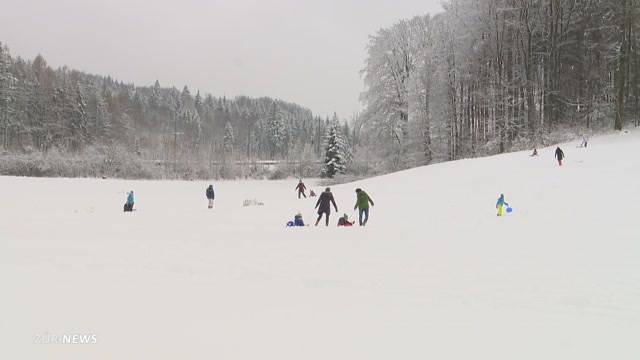 Lust und Frust dank Schnee