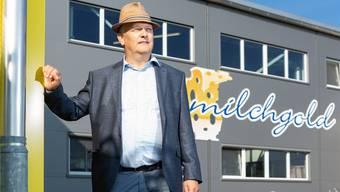 «Es wird Veränderungen geben», sagt Benedikt Felder, Verwaltungsratspräsident der Freiämter Käserei AG, mit Blick auf die Zukunft der Milchgold Käse AG. Chris Iseli