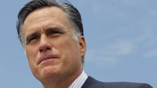 Versprecher: US-Präsidentschaftskandidat Mitt Romney (Archiv)