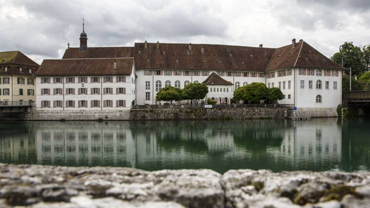 Das alte Spital in Solothurn.