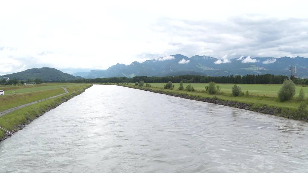 Rhesi: Rhein soll in Oberriet fast 400 Meter breit werden