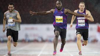 Der beste Schweizer Sprinter über 100 Meter: Alex Wilson.