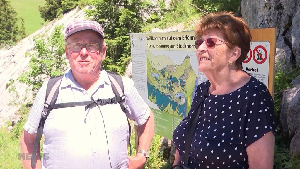 Schweizer Berge werden im Corona-Sommer überrannt
