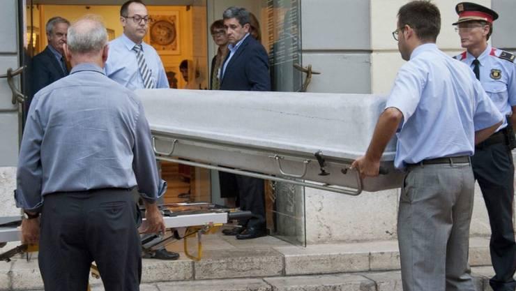 Die DNA-Proben wurden direkt aus dem Sarg des spanischen Künstlers Salvador Dalí im Museum in Katalonien entnommen.