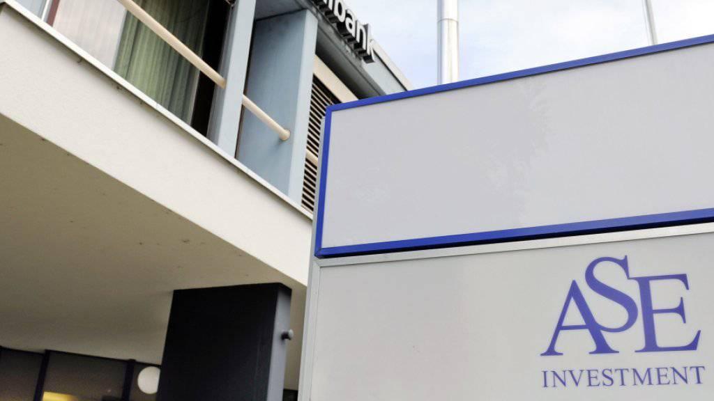 Die ehemaligen Büroräume der ASE Investment in Frick AG: Die Kunden wurden mit Traumrenditen von bis zu 18 Prozent angelockt. (Archivbild)