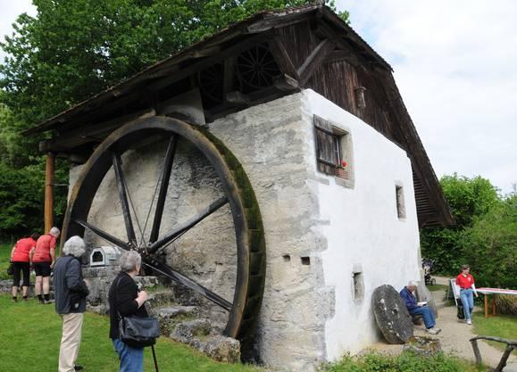 Die Alte Mühle in Büren a. A. war am Mühlentag Ziel vieler Besucher