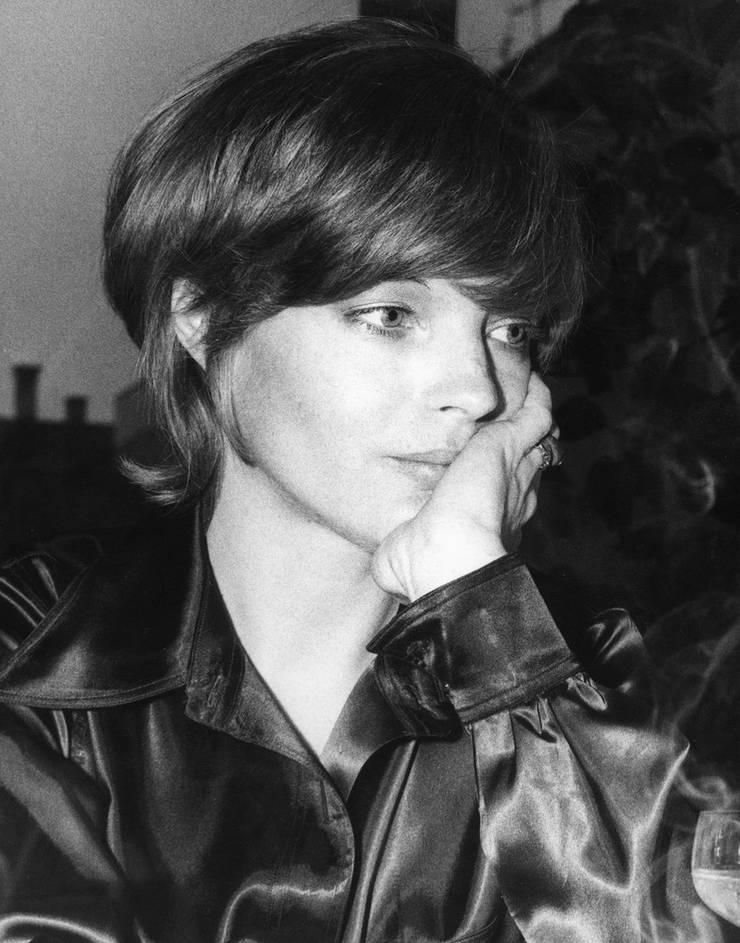 Romy Schneider, 1971. Ob sie hier gerade an Bruno Ganz denkt?
