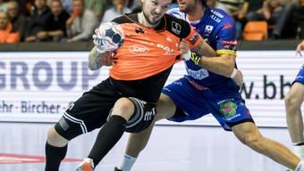 Kadetten Schaffhausens Johan Koch feierte in der Meisterschaft mit seinem Team einen Pflichtsieg
