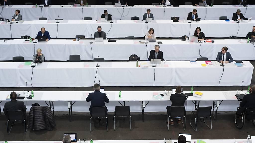 Bündner Kantonsparlament tagt erneut in Churer Festhalle