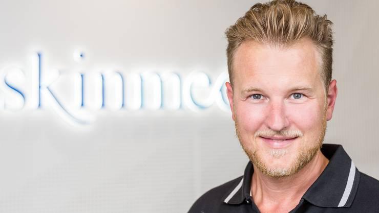 Hautarzt Felix Bertram ist Chef und Inhaber der «Skinmed»-Kliniken.