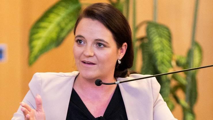 Stefanie Heimgartner, Transportunternehmerin, SVP