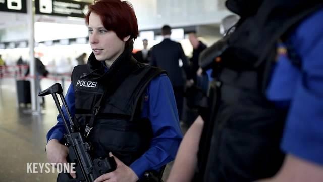 Mehr Polizei am Flughafen Zürich