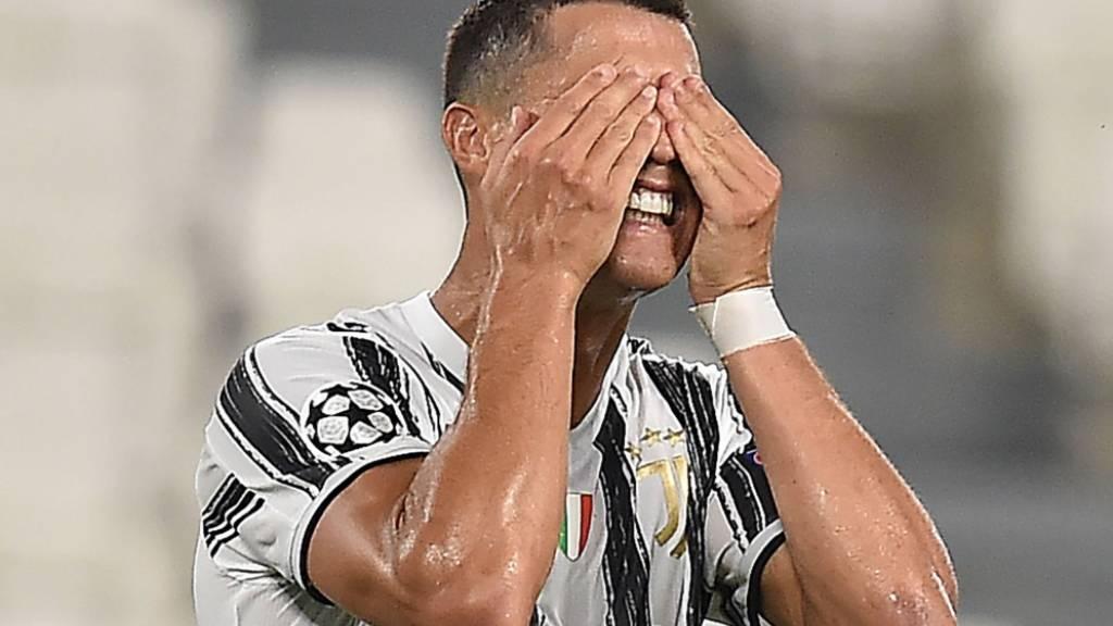 Augen zu und durch: Cristiano Ronaldo setzt Corona-Isolation in Turin fort