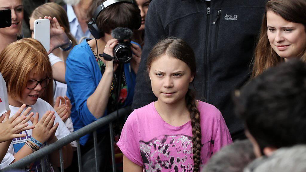 Thunberg erhält Preis in Nordfrankreich