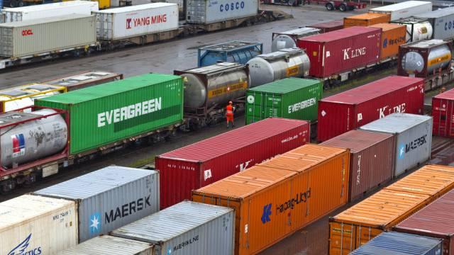 Die Exportwirtschaft verhilft der Schweiz zum Wirtschaftswachstum