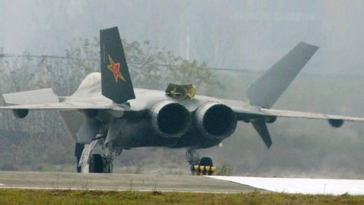 In China ist ein Militärflugzeug bei einem Trainingsflug abgestürzt. (Symbolbild)