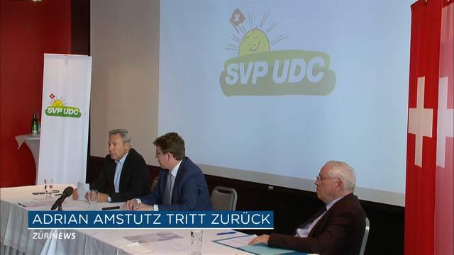 Adrian Amstutz tritt zurück