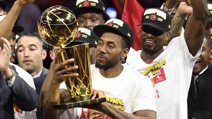 Wechselt nach dem Titelgewinn mit den Toronto Raptors zu den Los Angeles Clippers: Kawhi Leonard.