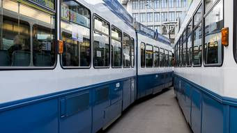 """Tramhaltestelle """"Siemens"""" in Albisrieden wird behindertengerecht. (Symbolbild)"""
