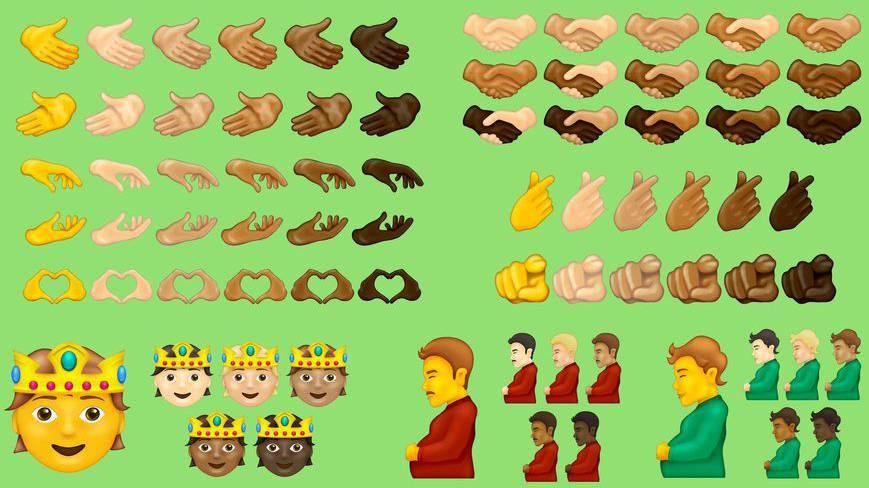 Die neuen Emojis sollen nächstes Jahr verfügbar sein.